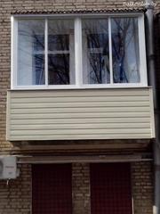 Монтаж крыши на балкон последнего этажа